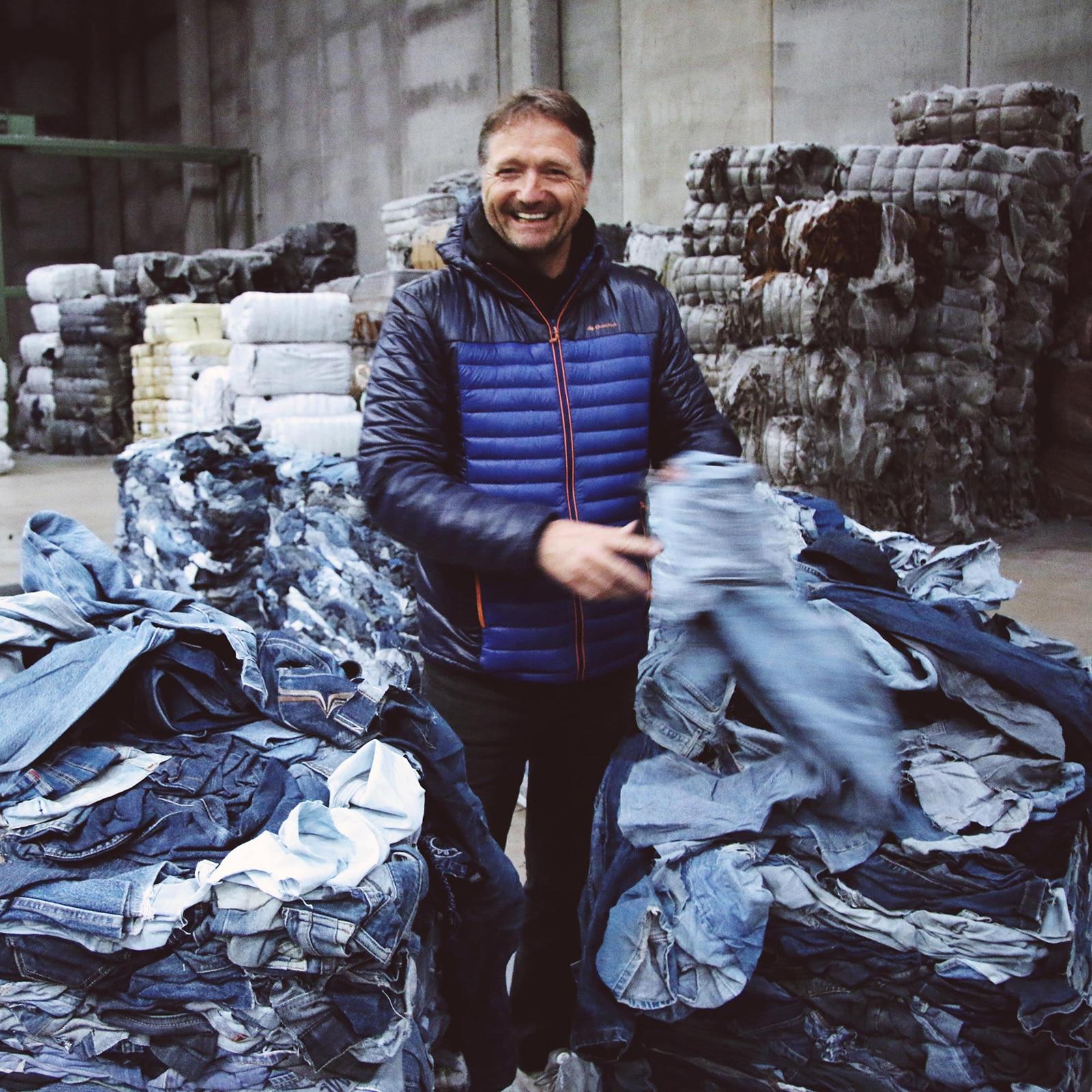 Bert van Son, oprichter MUD Jeans